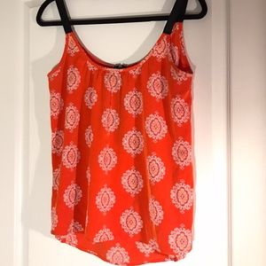 Peach Love Orange/Red Tank Top